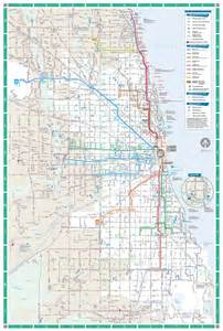 Maps Chicago by Chicago Subway Map Images