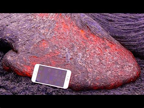 don t drop your iphone 6s in lava