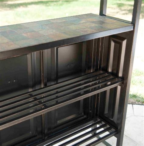 Tops Bar And Grill by New Large Steel Frame Grill Gazebo Outdoor Bar Vented