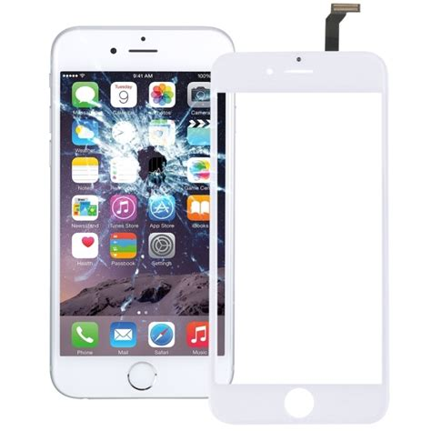 Touch Screen Iphone 6 Replika touch screen replacement for iphone 6 white alex nld