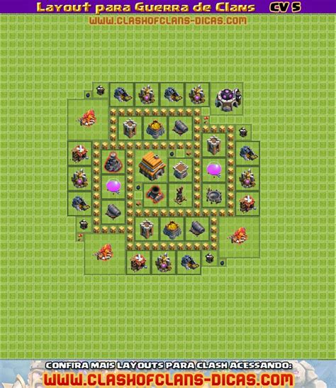video de layout cv 5 layouts para guerra de clans cv 5 clash of clans dicas