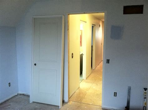 prehung interior door how to replace a prehung interior door buildipedia