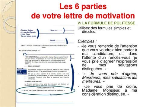 Conseils Pour Une Lettre De Motivation Conseils Pour R 233 Diger Une Lettre De Motivation