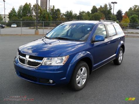 blue dodge journey 2010 dodge journey sxt in water blue pearl coat