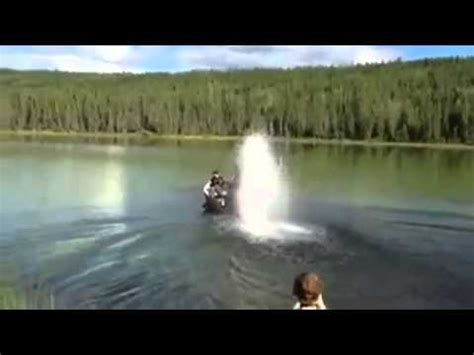 motorcycle boat motorcycle powered boat youtube