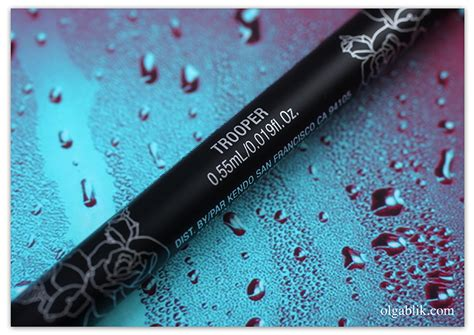 tattoo liner kat von d kat von d tattoo liner trooper водостойкая подводка для
