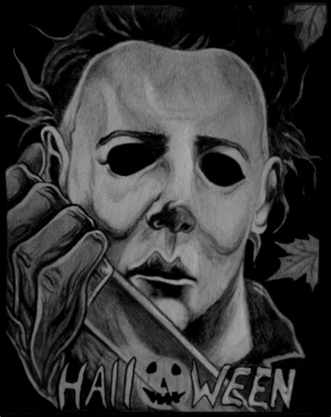 mike myers you re the devil michael myers drawings michael myers net