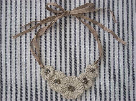 design pattern yii marlene brady free crocheted necklace tutorial