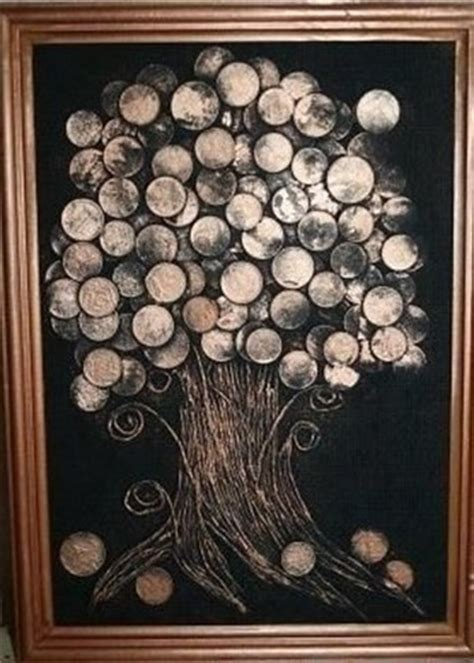 money tree  coins    handmade gift  friends