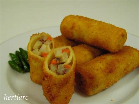 vidio membuat risoles resep risoles share the knownledge