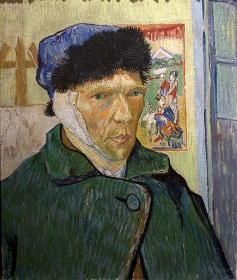 van goghs ear the 1784702226 vincent van gogh self portrait with a bandaged ear 1889 flickr photo sharing