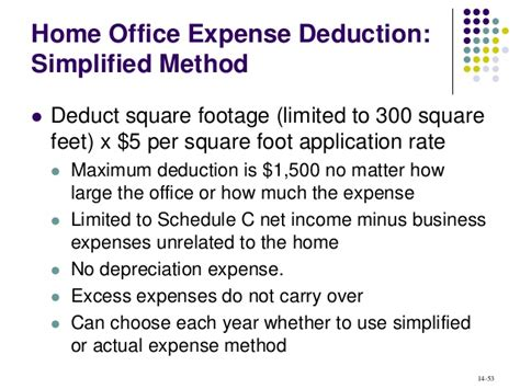 Simplified Method Home Office by Acct321 Chapter 14