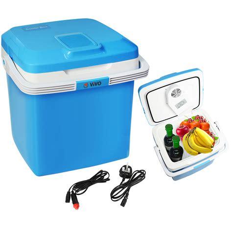 porta box auto 26l electric coolbox cooler cold portable cool box car