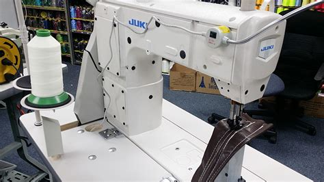 walking foot upholstery sewing machine leather and upholstery machines juki plc 2710 post bed