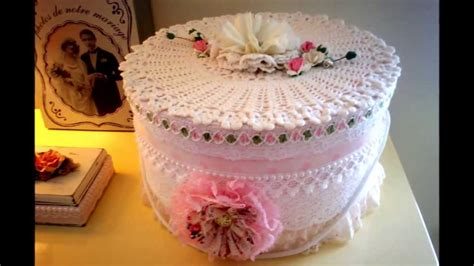 shabby chic hat boxes beautiful shabby chic altered hat box