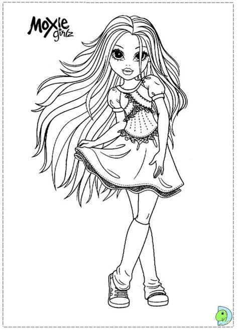 moxie girlz coloring pages moxie girlz colouring page colouring bratz monster high