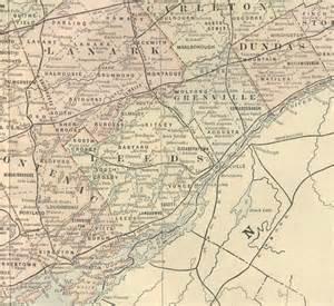 map of eastern ontario counties 1891