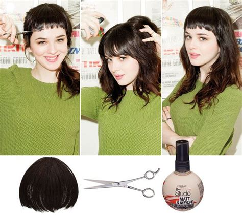 finally this vintage bangs trend is making a return and hannah johnson tests the mini bang trend 2013 flare