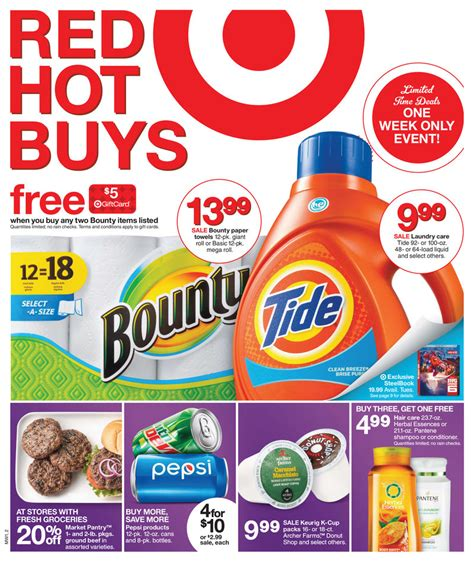 weekly ads weekly ad for kmart target walmart kohls target weekly ad red hot buys february 2015