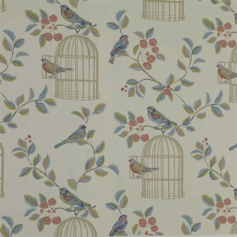 shabby chic wallpaper shabby chic songbird wallpaper by kaleidoscope kaleidoscope