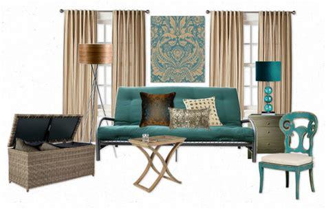 futon decor the lovely side one futon five ways studio style