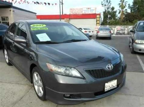 2007 Toyota Camry Sport by 2007 Toyota Camry Se Moon Roof Factory Sport Kit