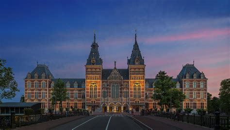 In Amsterdam by Rijksmuseum The Most Museum In Netherlands