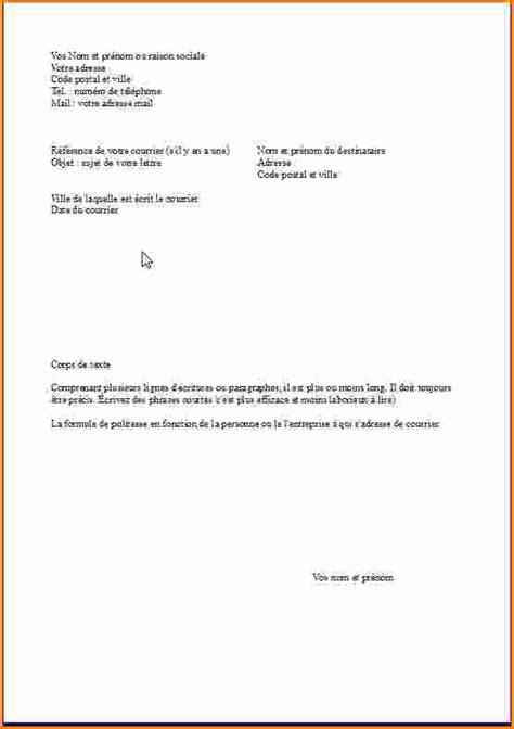 Présentation Lettre De Motivation Mise En Page 9 Mise En Page D Une Lettre De Motivation Exemple Lettres