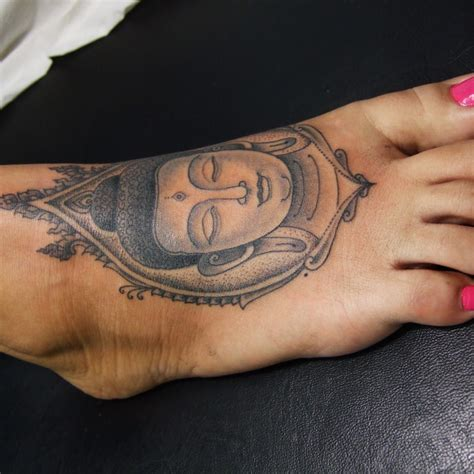 cool buddha tattoo 2 buddha foot tattoo on tattoochief com