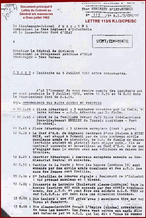 lettre officielle russe algerie la verite sur la guerre d alg 195 169 rie