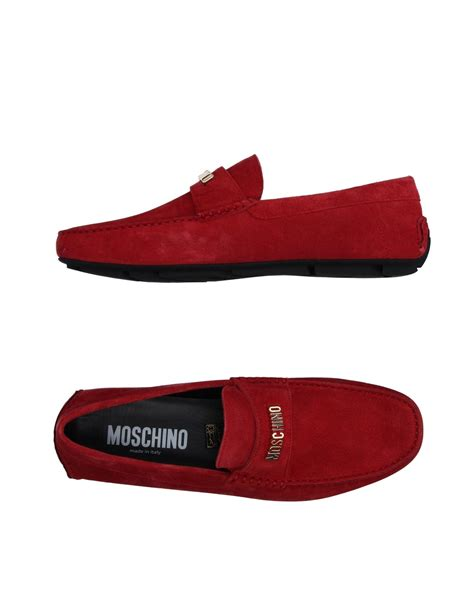 moschino mens loafers moschino loafer in for lyst