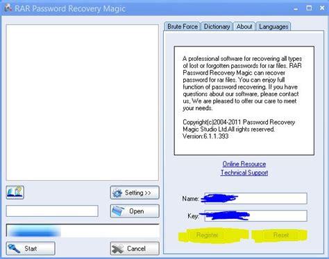 full version rar password recovery rar password recovery magic full version with crack