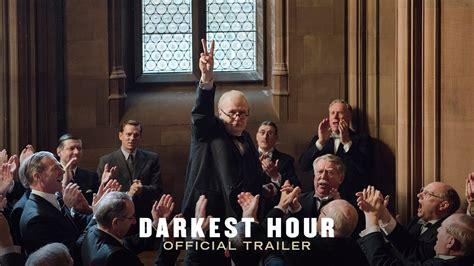 darkest hour cinema brit movies darkest hour trailer released new churchill