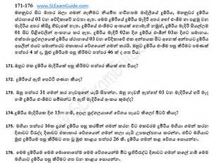 exam guide iq questions and answers in sinhala general