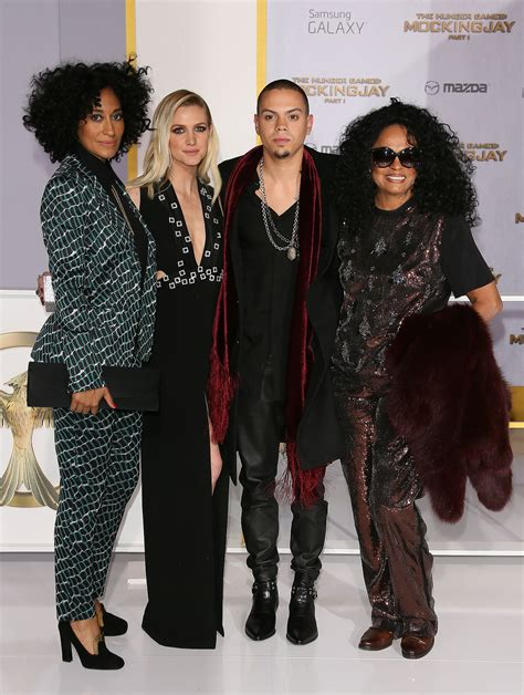 tracee ellis ross jessica simpson diana ross appears in ashlee and evan people