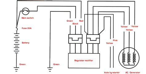 gy6 voltage regulator wiring diagram wiring diagram 2018