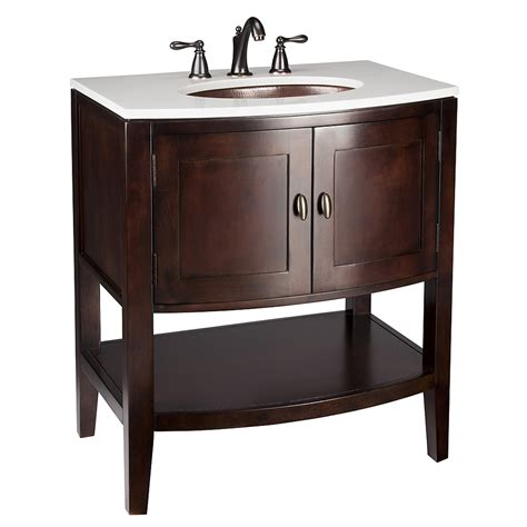 shop allen roth renovations merlot undermount single sink poplar bathroom vanity  cultured