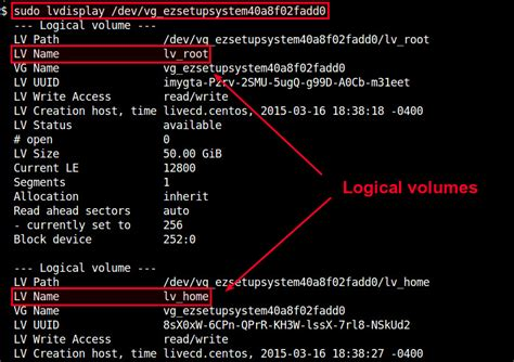 howto lvm linux how to mount an lvm partition on linux ask xmodulo