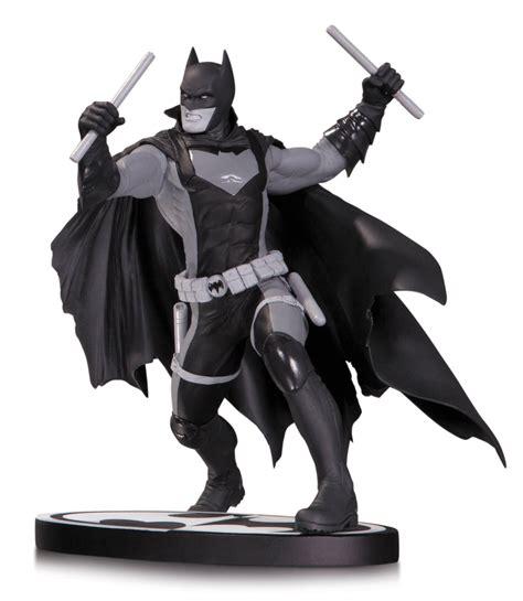batman white batman black and white earth 2 statue from dc