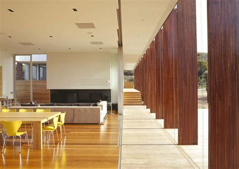 inside península home design two living pavilions under one roof open onto an outdoor