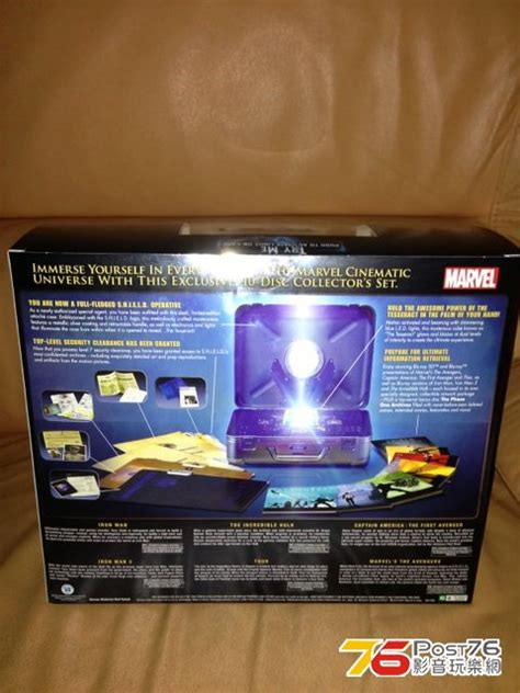 one box set marvel cinematic universe phase one assembled