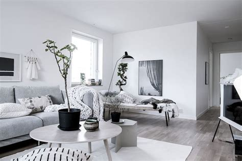 calm scandinavian decor style