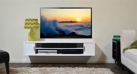 Affordable Wall Mounted Shelves Great Wall Mounted Entertainment Shelves 63 With