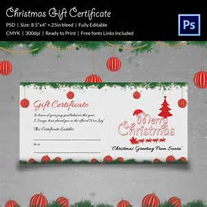 Gift Certificate Psd Template by Gift Certificate Templates 21 Psd Format
