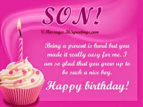 Tex message birthday messages for son birthday wishes for your son