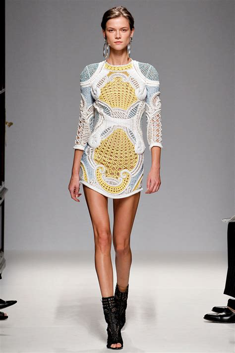 10 Ways To Become Runway Ready 7 Days by 2013 Ready To Wear Balmain The Living Fashion