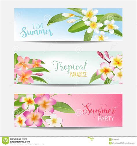 messa in testo insegna tropicale messa con i fiori tropicali carta con