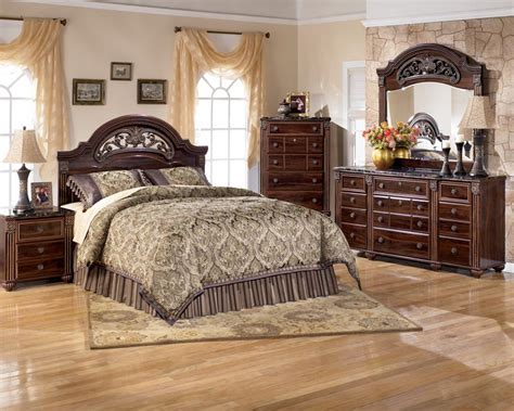 ashley bedroom set rent to own ashley gabriela queen bedroom set appliance
