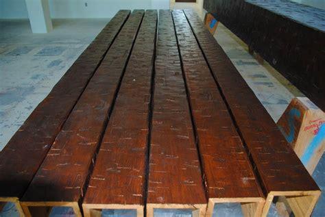 cedar box beam with heavily hewn images frompo woodland custom beam company schenk wood beam box beam
