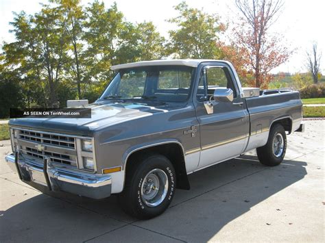 short bed 1987 189 ton short bed chevy silverado